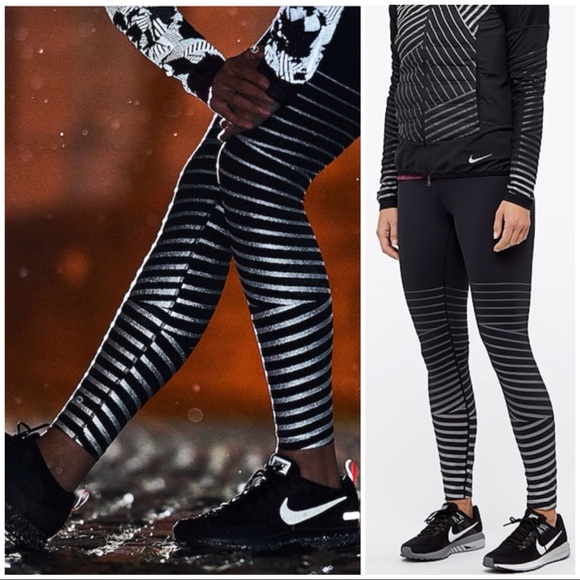 22bc00dea83f4b Nike Pants | Epic Lux Flash Reflective Tights Nwt 856680 | Poshmark